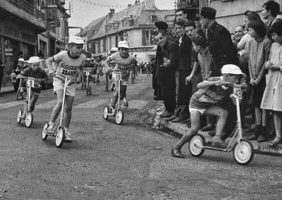 course de trotnettes dans Bagnères