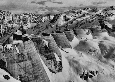 le barrage du Migouélou 1958